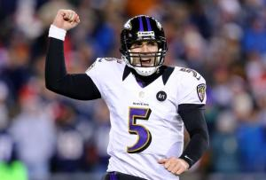 Joe Flacco now has the chance to win it all