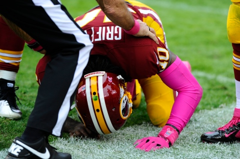 This will likely be the lasting image from NFL Wild Card Weekend 2013