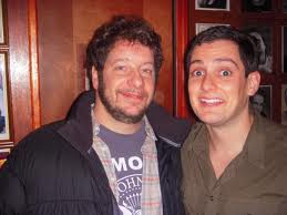 Machi and comedian/roastmaster Jeff Ross
