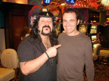 Tony with Vinnie Paul in Las Vegas in 2007
