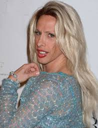 This is either Lady Gaga or Alexis Arquette.  If you're wondering which one it is, just ask yourself:  Does it really matter?