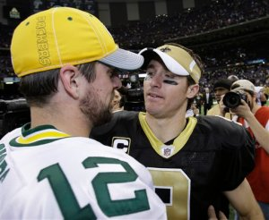 Drew Brees, Aaron Rodgers