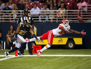 NFL: Preseason-Kansas City Chiefs at St. Louis Rams
