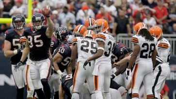 Cleveland Browns v Houston Texans
