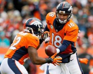 Peyton Manning, C.J. Anderson