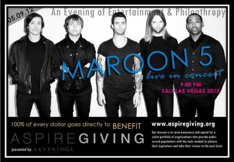 SALT 2012 poster Maroon 5