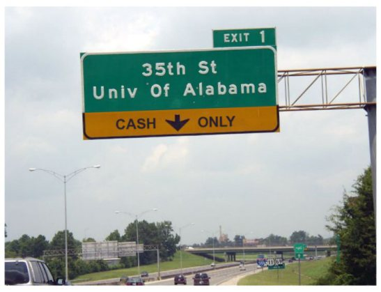 Bama-Sign-Cash-Only